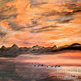 Sunset with Guests by Barbara Donovan