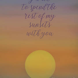 NAJE Foto - Nelly Rodriguez - Sunsets with You - Card