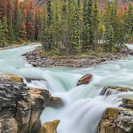 Sunwapta Falls by Dan Sproul