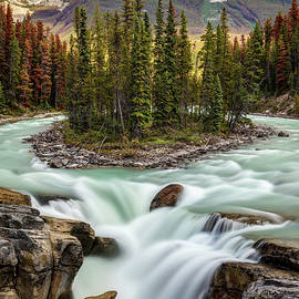 Sunwapta Falls In the Canadian Rockies by Pierre Leclerc Photography