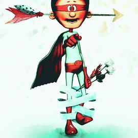 Super Hero In Love by Bob Orsillo