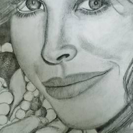 Supermodel Christy Turlington by Christy Saunders Church