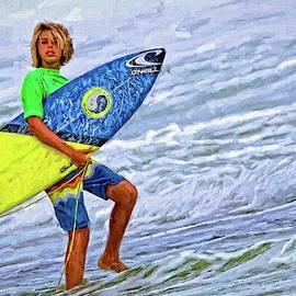 Surfer Blonde Streaks by Alice Gipson