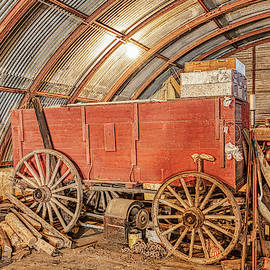 Surprise In The Old Shed by Jim Thompson