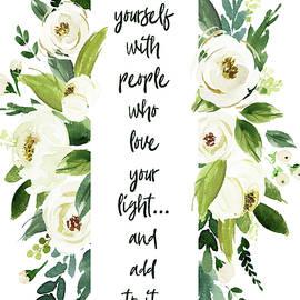 Surround Yourself - Kindness by Jordan Blackstone
