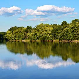 Susquehanna River Owego NY by Christina Rollo