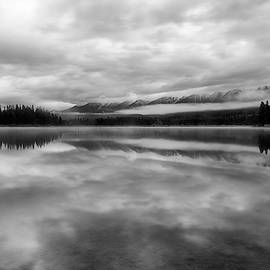 Swan Range in Black and White by Matt Hammerstein