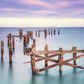 Swanage Old Pier Colour Variation by Framing Places