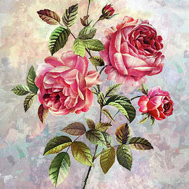 Sweet Fragrance of Roses by Grace Iradian