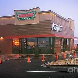 Sweet Morning Fog - Krispy Kreme by Frank J Casella