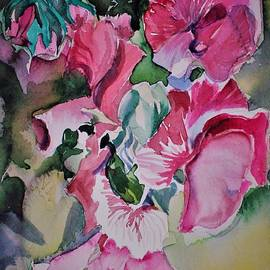 Sweet Peas by Mindy Newman