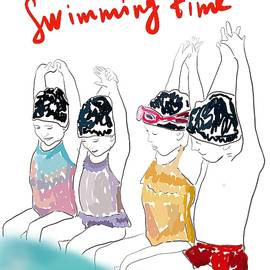 Swimming time by Maria Gunby