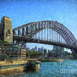 Sydney Habour Bridge by Sue Melvin