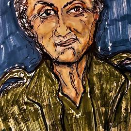 Sylvester Stallone John Rambo by Geraldine Myszenski