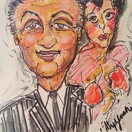 Sylvester Stallone Rocky Balboa by Geraldine Myszenski