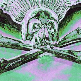 Symbol of death by Lali Kacharava