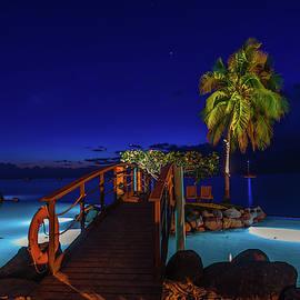 Tahitian Nightscape by Scott McGuire