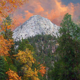 Tahquitz Peak - Lily Rock Painted Version by Glenn McCarthy Art and Photography
