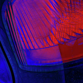 Tailight Abstract by Claudia O'Brien