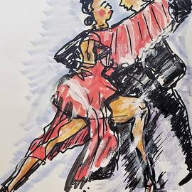 Takes Two To Tango by Geraldine Myszenski