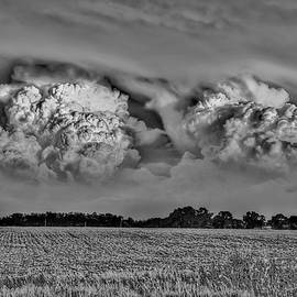 Tale of Two Storms in Black and White by Dave Paddick by Photography By Phos3 Kathryn Parent and Dave Paddick