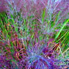 Tall Grass Abstract #1 by Ed Weidman