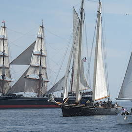 Tall Ship Gathering by Robert Gerdes