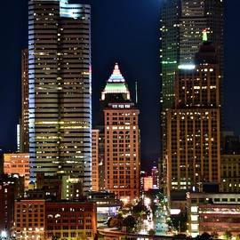 Tall Towers in Pittsburgh by Skyline Photos of America