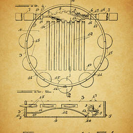 Tambourine Patent by Dan Sproul