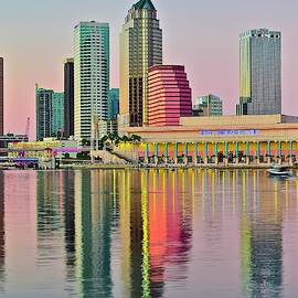 Tampa in Vivid Color by Frozen in Time Fine Art Photography