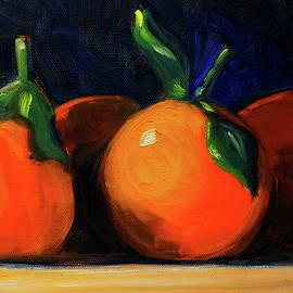 Tangerines by Nancy Merkle