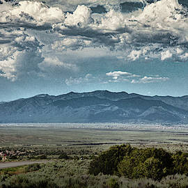 Taos From A Distance by Yuri Lev