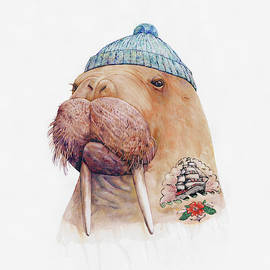 Tattooed Walrus by Animal Crew