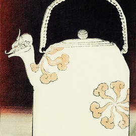 Teapot - Japanese traditional pattern design