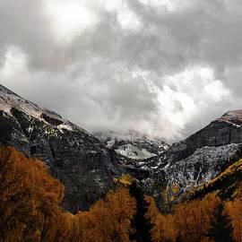 Telluride First Snow by Norma Brandsberg