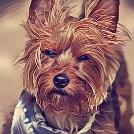 Terrier love by Kelley Burnes
