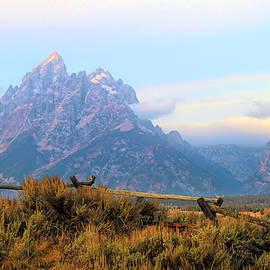 Teton Landscape by Donna Kennedy