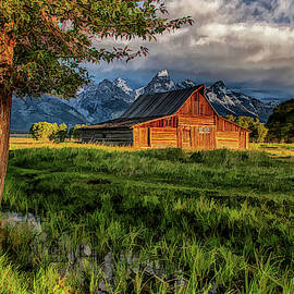 Grand Teton National Park Moulton Barn by Christopher Arndt