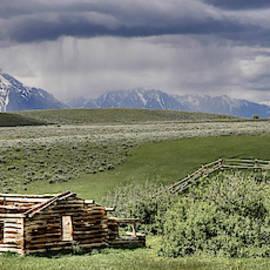 Teton Storm by Randall Dill