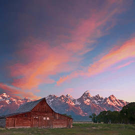 Tetons Sunrise V by Jon Glaser