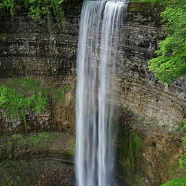 Tew Falls Vertical by Rachel Cohen