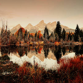 Texturing The Tetons by Michael Morse