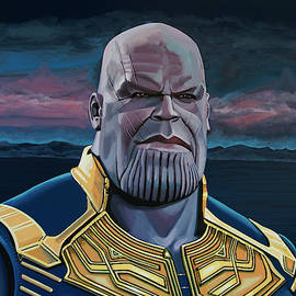 Thanos Painting by Paul Meijering