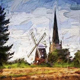 Thaxted Mill Blue by Jack Torcello