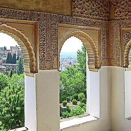 The Alhambra Palace and Fortress In Granada, Spain by Lyuba Filatova
