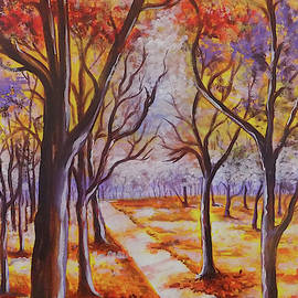 The Autumn Trees by Asp Arts