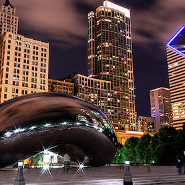 The Bean at Night by Charlie Schafer