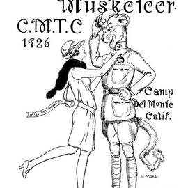 The Bear-cat Musketeer C. M. T. C. 1926 by California Views Archives Mr Pat Hathaway Archives
