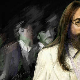 The Beatles Abbey Road by Mark Tonelli