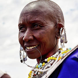 The Beauty of a Maasai Woman by Kay Brewer